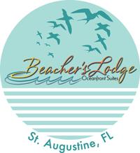 St Augustine Florida Map.St Augustine Map Beacher S Lodge Oceanfront Suites Crescent Beach
